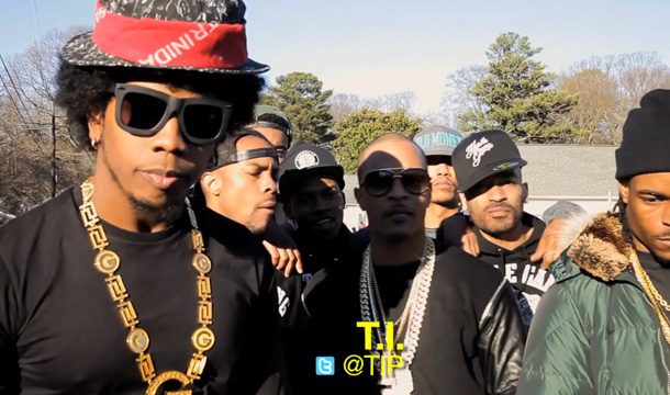 """BTS: Trinidad James' """"All Gold Everything (Remix)"""" With T.I., Jeezy, and 2 Chainz"""