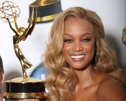 Tyra Banks Picks Up First Emmy Award