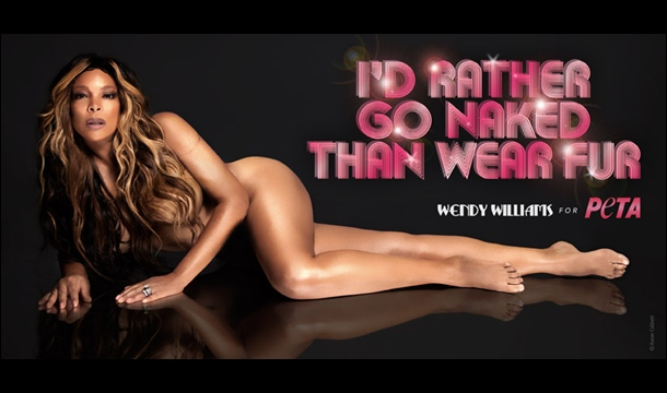 Wendy Williams Bares It All for PETA