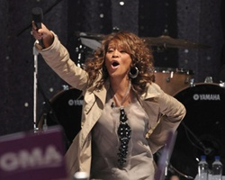 Whitney Houston 'Workin' On Her Fitness,' Undefeated Cover Debuts