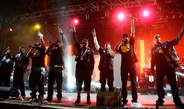 O.D.B. Rocks The Stage as a Hologram Artist At Rock The Bells