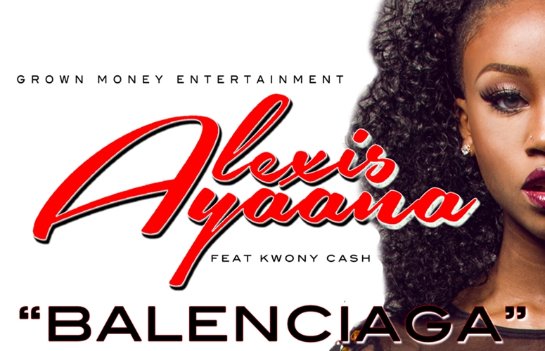 Atlanta Diva Alexis Ayaana Gets Lit In 'Balenciaga' Video