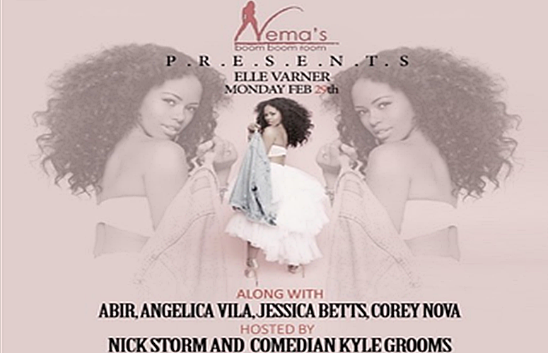 Elle Varner To Debut New Music From Upcoming Project at NYC's Nema's Boom Boom Room
