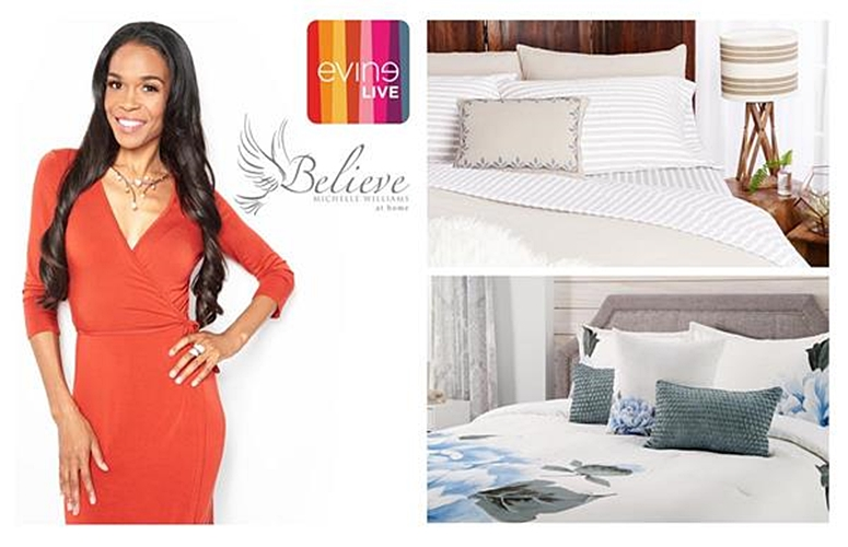 Michelle Williams To Launch Home Decor Collection On EVINE Live