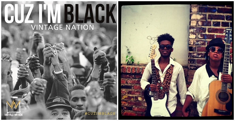 Guitar-Playing Duo Vintage Nation Celebrates Black Accomplishments In New Video, 'Cuz I'm Black'