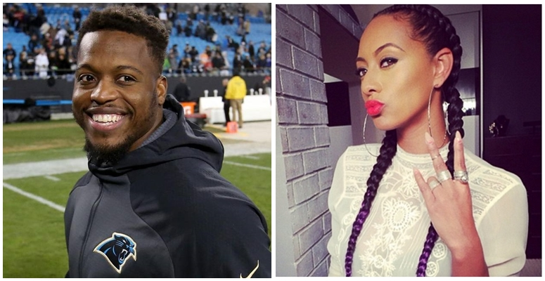 Keri Hilson Re-Emerges As a Feature On Panther Running Back Jonathan Stewart's Single 'Dab On My Haters' ft. Waka Flocka & K Camp
