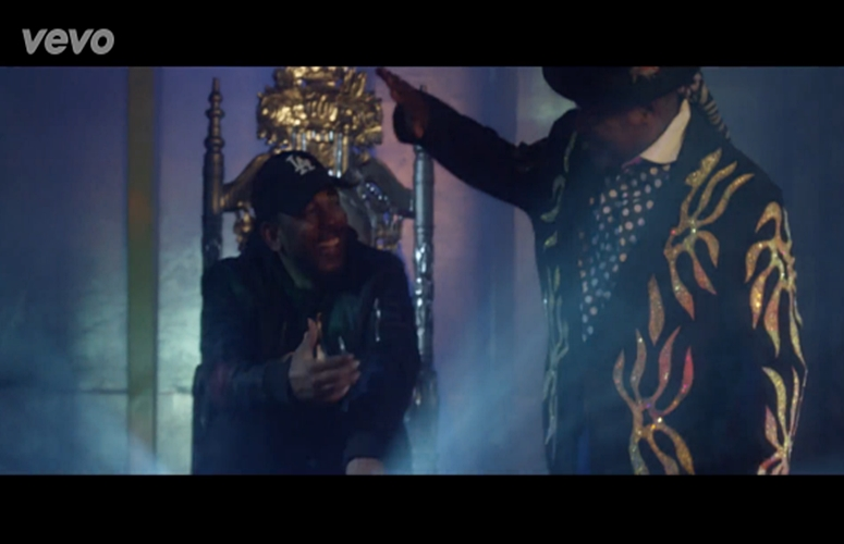 Funkadelic, Kendrick Lamar & Ice Cube Get On The Moterhship In 'Ain't That Funkin Kinda Hard On You' Video