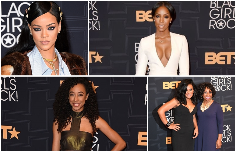 Rihanna, Kelly Rowland, Gladys Knight, More Rock The 'Black Girls Rock' Red Carpet