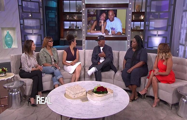 Dame Dash Visits 'The Real,' Opens Up About Aaliyah's Passing (Video)