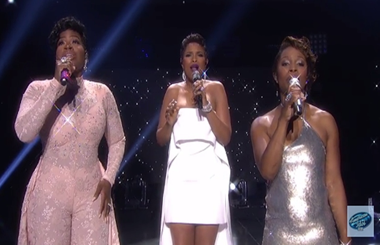 'American Idol' Alum Jennifer Hudson, Fantasia and LaToya London Perform On Series Finale (Video)