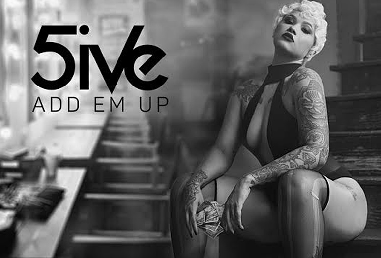 DMV Newbie 5ive Counts Her Stacks On Trap Tune, 'Add Em Up'