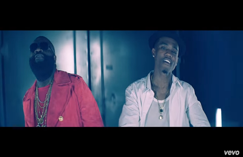 B. Smyth Hits Up The Strip Club With Rick Ross In Video For 'Gold Wrappers'