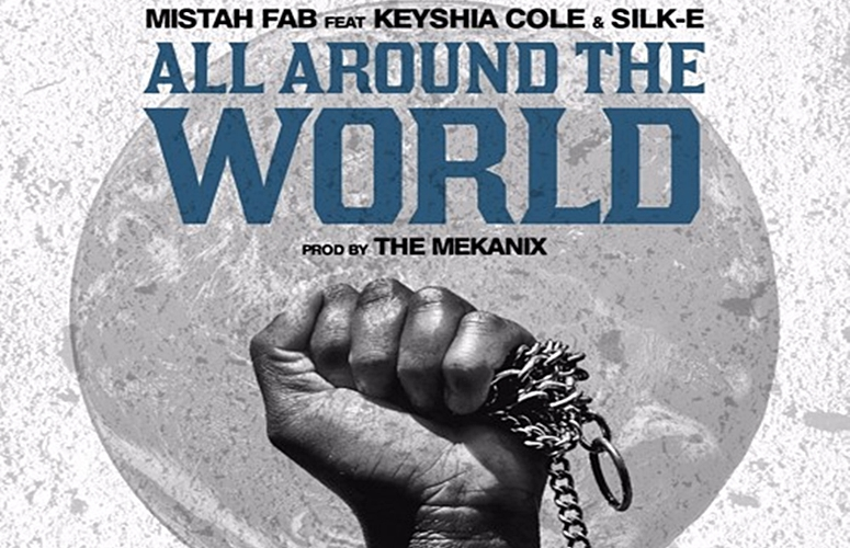 Keyshia Cole and Silk-E Featured On Mistah F.A.B.'s  'All Around the World,' Which Documents Society's Ills