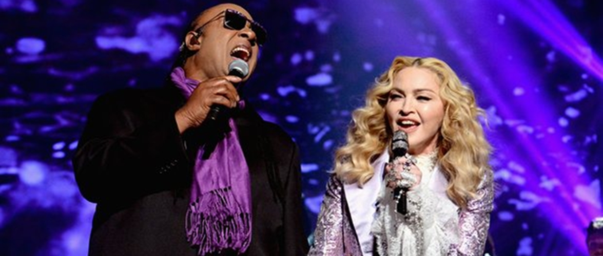 Stevie Wonder Joins Madonna For Prince Tribute At The 2016 Billboard Music Awards, Social Media Reacts