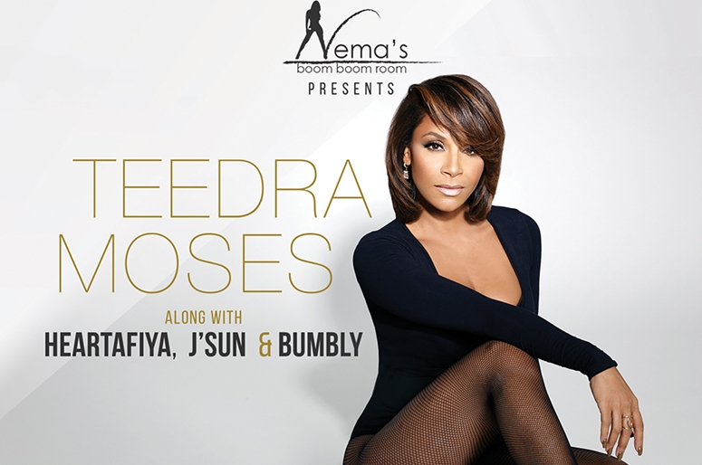 Teedra Moses To Headline Nema's Boom Boom Room Showcase