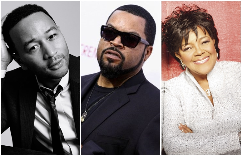 John Legend, Ice Cube, New Edition, More Will Get Stars On Hollywood Walk Of Fame, Shirley Caesar Celebrates Hers
