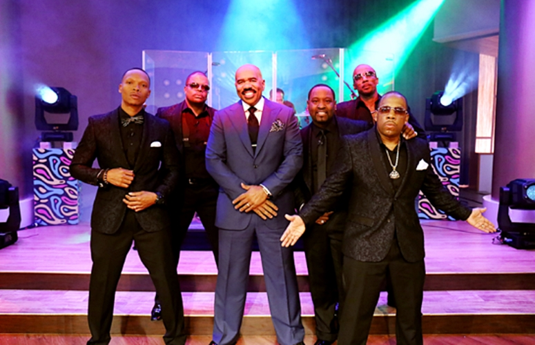 New Edition, Keith Sweat, Ginuwine, & More To Appear As a Part Of 'Men Of R&B' Week On 'The Steve Harvey Show' (Video)