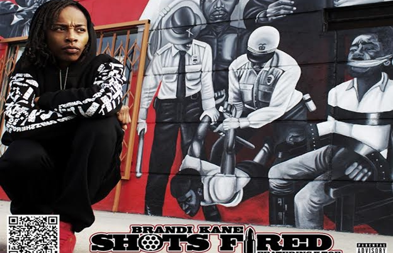 L.A. Femcee Brandi Kane Is Fed Up With Violence In 'Shots Fired' Video
