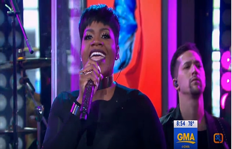 Fantasia Debuts Triumphant New Song 'I Made It' On 'GMA' (Video), Go BTS Of Her Album Cover Photoshoot