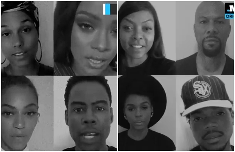 Rihanna, Alicia Keys, Pharrell, Beyonce & More Participate In MIC's '23 Ways You Could Be Killed If You Are Black In America' PSA