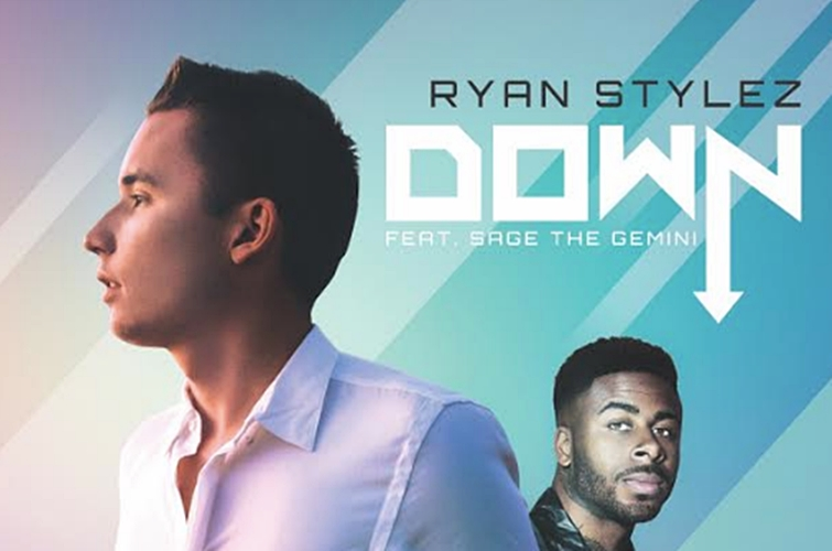 Rising Singer Ryan Stylez & Rapper Sage The Gemini Get 'Down' By The Pool