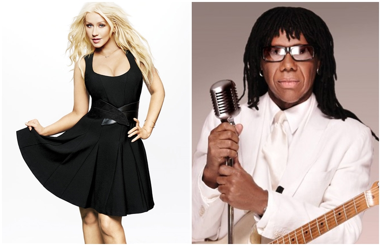 Christina Aguilera & Nile Rodgers Collab On Funky Track, 'Telepathy' For 'Get Down' Soundtrack.