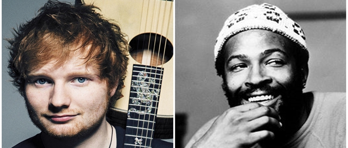 Heirs Of Songwriter Who Penned Marvin Gaye's 'Let's Get It On' Suing Ed Sheeran For Copyright Infringement
