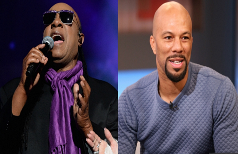 Common & Stevie Wonder Link Up For Powerful Single/Video, 'Black America Again'