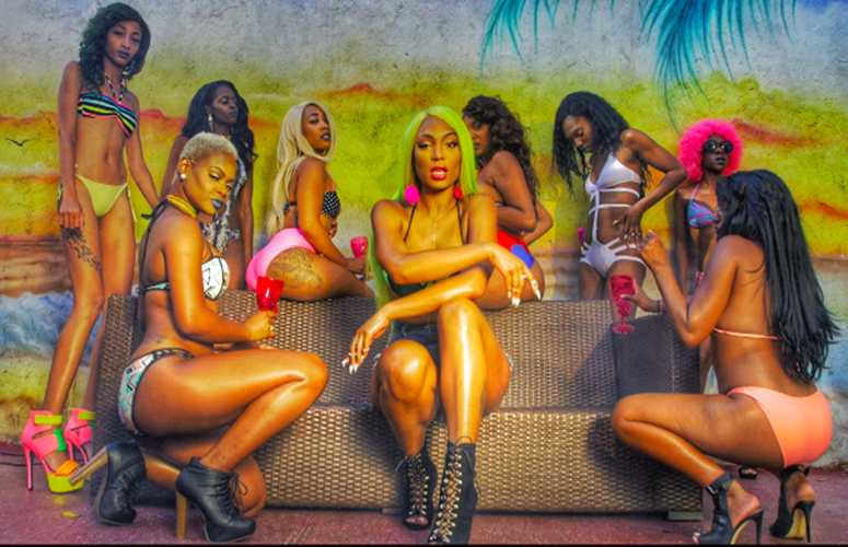 It's All Skin In Dancehall Singer Barbee's Bootylicious Video, 'Whoa'