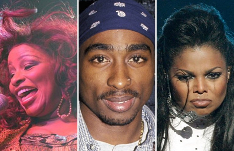 Tupac, Chaka Khan, and Janet Jackson Are In The Running As Rock and Roll Hall Of Fame Nominees