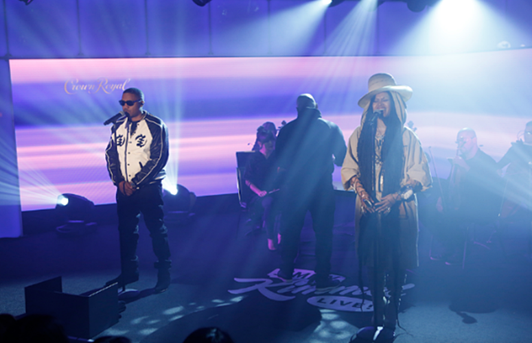 Watch Erykah Badu and Nas Perform 'This Bitter Land' On 'Jimmy Kimmel LIVE'