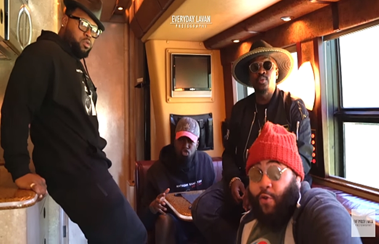 Anthony Hamilton and The Hamiltones Mock Trump Statement In New A Capella: 'Don't Vote For Trump He'll Grab You By The Pu**y'