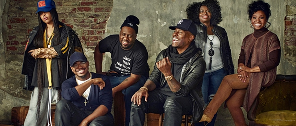 Tyrese, Angie Stone, Ne-Yo, Gladys Knight, and Robert Glasper Participate In 2016 Soul Train Awards 'Soul Cypher'