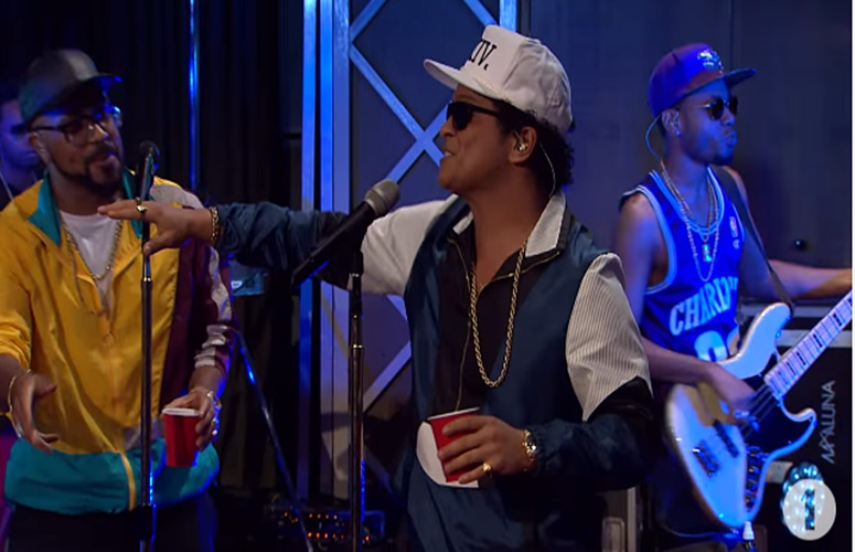 Watch Bruno Mars Perform His Single '24K Magic' and Adele's 'All I Ask' On 'The Live Lounge'