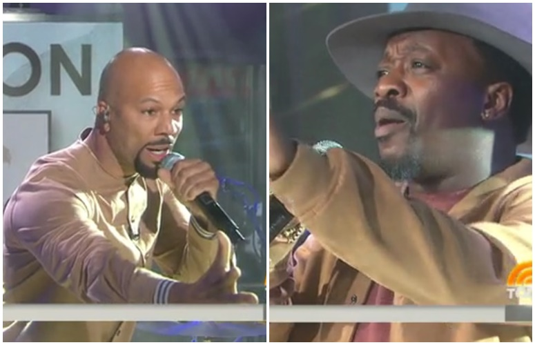 Watch Common & Anthony Hamilton Perform 'Letter To The Free' On 'The Today Show'