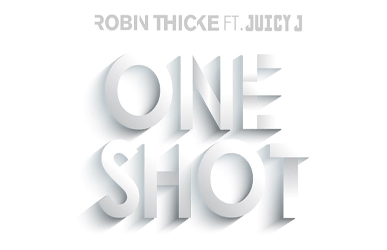 Robin Thicke & Juicy J Take 'One Shot' On Vintage-Inspired Collab