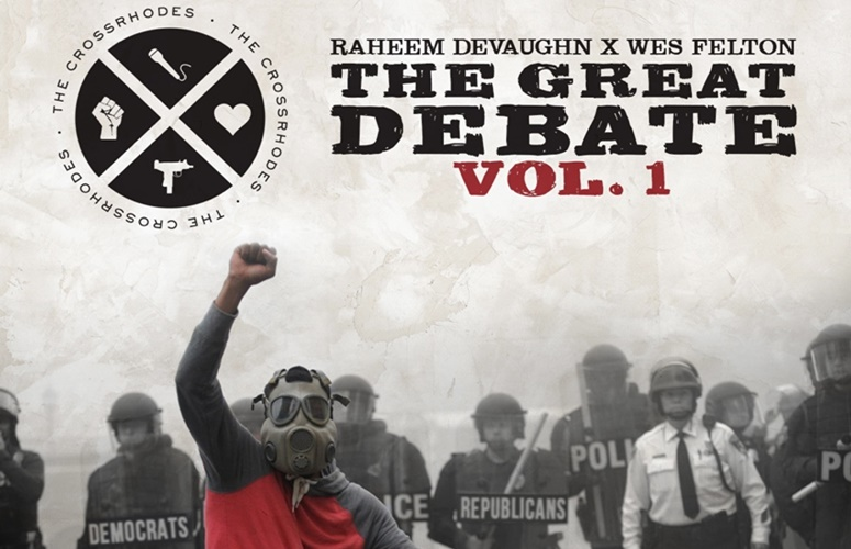Raheem DeVaughn & Wes Felton As Duo The CrossRhodes Drop 'The Great Debates' Mixtape