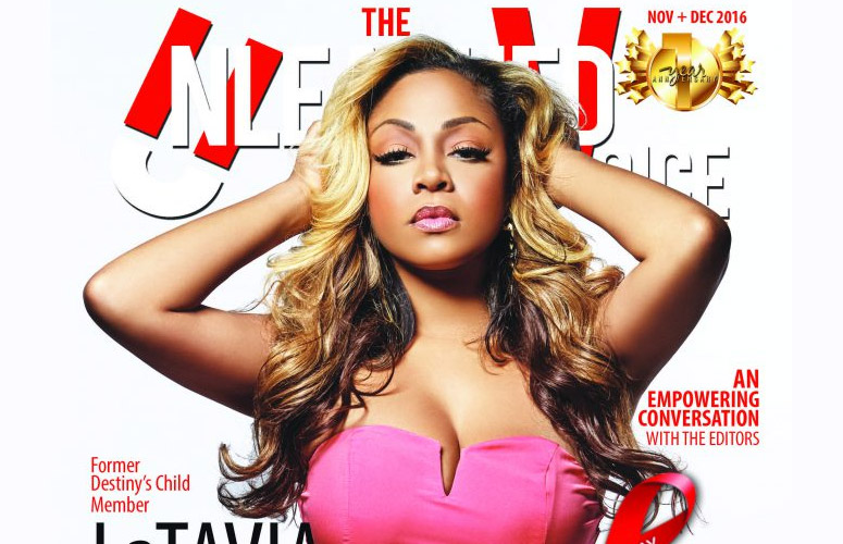 Former Destiny's Child Member LaTavia Roberson Covers TUV Magazine