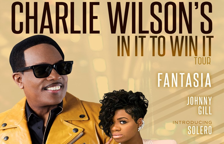 Charlie Wilson Announces New Album & National Tour 'In It To Win It,' Fantasia & Johnny Gill To Support