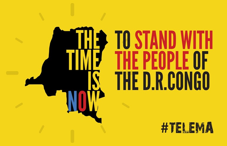 Support The People Of The D.R. Congo In The #TELEMA Movement