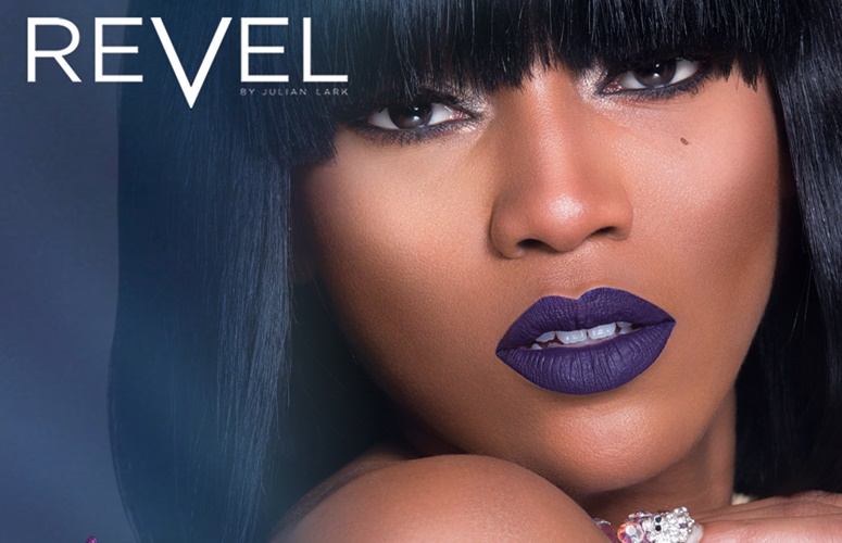 Dondria Nicole Is the Face Of Julian Lark Cosmetics' Revel Collection, 'Phattitude'