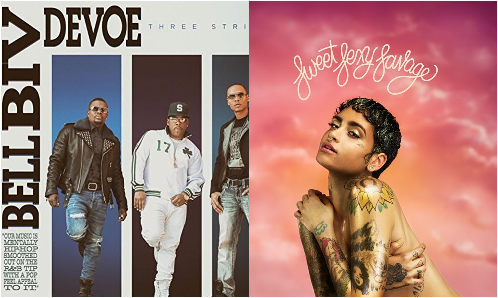 New Releases: Bell Biv DeVoe's 'Three Stripes' x Kehlani's 'SweetSexySavage' (Preview)