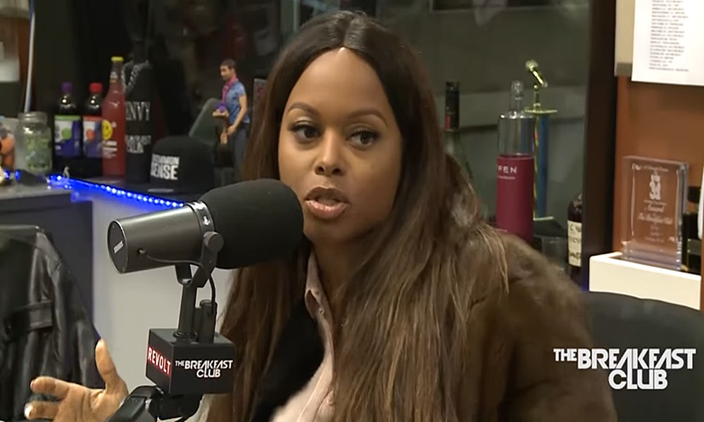 Chrisette Michele Continues To Explain Why She Performed At Trump Inauguration On 'The Breakfast Club' (Video)