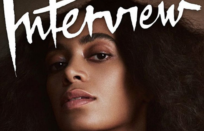 Solange & Beyonce Talk Growing Up Together In Rare Duo Interview With 'Interview' Magazine