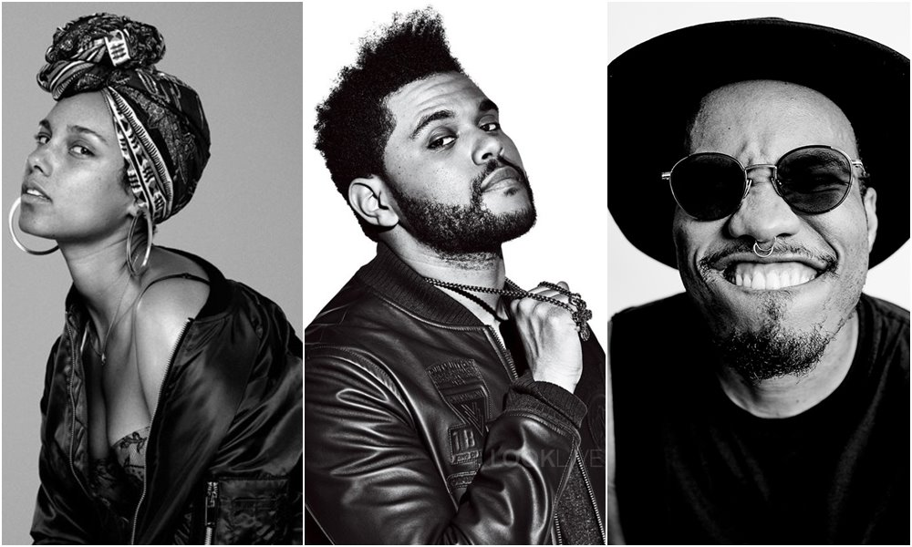 Alicia Keys, The Weeknd and Anderson .Paak Join 59th Annual GRAMMY Awards Lineup
