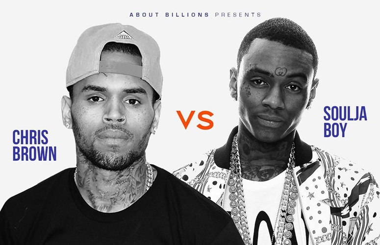 Celebrity Boxing Match Set For Chris Brown and Soulja Boy; Will They Go Through With It?