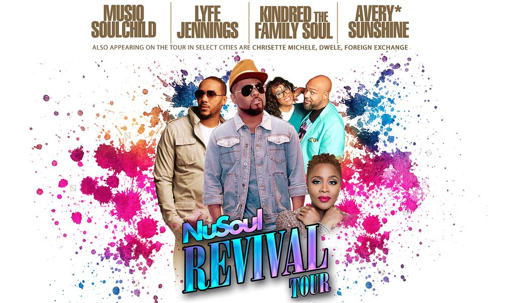 "Musiq Soulchild Readies ""NuSoul Revival Tour"" With Lyfe Jennings, Avery*Sunshine, and Kindred the Family Soul (Dates)"