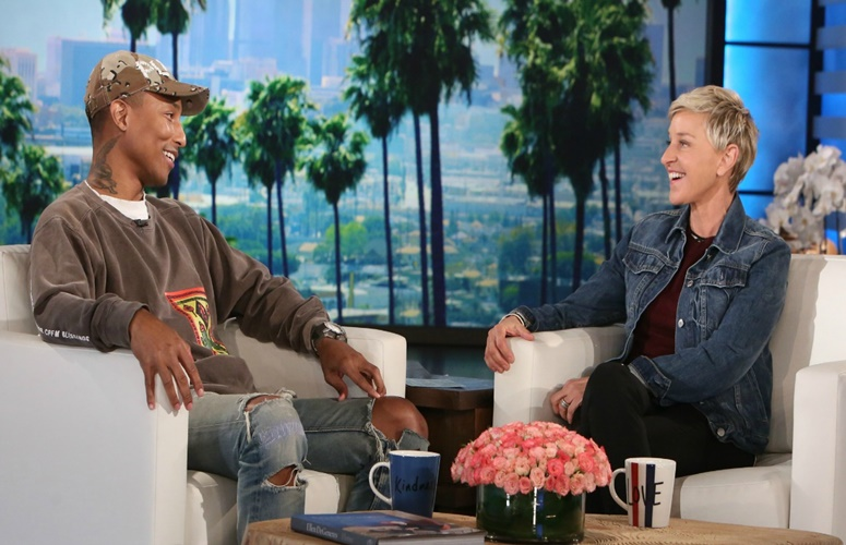 "Pharrell Addresses Kim Burrell's Anti-Gay Sermon on 'Ellen': ""There's No Room For Any Kind of Prejudice In 2017"""
