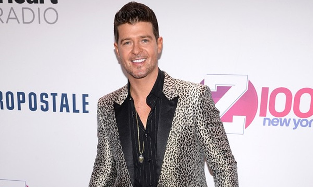 Judge Rules Robin Thicke Committed Domestic Violence, Prohibits Him From Seeing Ex-Wife And Son