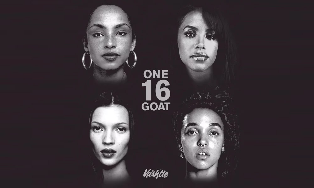 Birthday Tribute: Vashtie Honors The Late Aaliyah, Sade, FKA Twigs, and Kate Moss With #ONE16GOAT Mixture